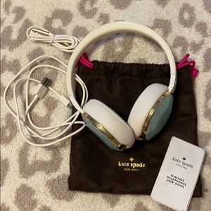 Kate Spade Bluetooth Wireless Mint headphones